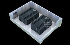 机房效果图制作|封闭冷通道|微模块机房效果图