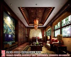 北京香山某古典中式四合院装修方案
