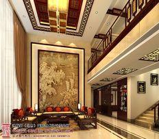 江门别墅中式装修 装饰气氛更显的沉稳大气