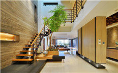 郑州专业高端艺术别墅设计公司  650平跃层别墅装修设计案例