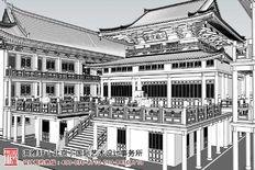 浙江省乐清市白莲禅寺寺院装修效果图分享