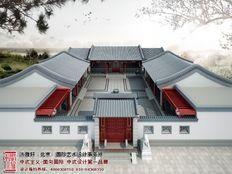 北京冯总四合院装修效果图方案全套分享