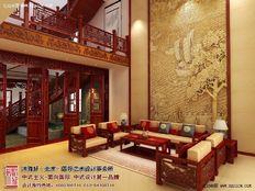 古典中式装修效果图 华美的背后不乏温馨感