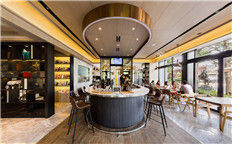 郑州特色主题咖啡厅设计公司-马戏主题咖啡厅装修设计效果图