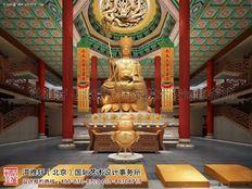 四川省遂宁市大悲寺寺院装修效果图
