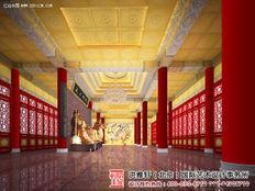寺院大殿装修设计效果图 寺院大殿装修