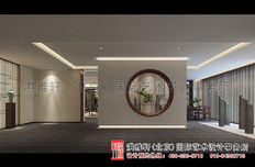 天津新中式风格茶楼装修效果图案例