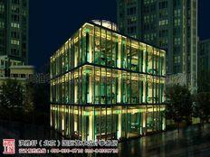 北京茶楼装修效果图 古典与欧美主义的结合