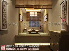 吉林通榆白城中式茶楼装修效果图方案